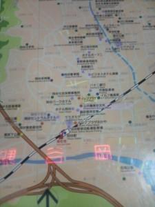 岡谷駅周辺マップ
