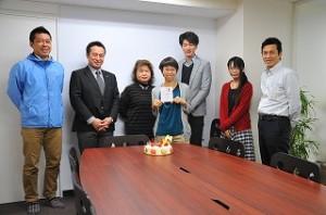 鈴木さんお誕生日 おめでとうございます!!