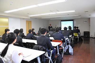 2014年3月24日 第1回 単独説明会 企業説明会を実施しました。