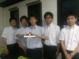 2014年9月5日 柴田さんお誕生日おめでとう!!