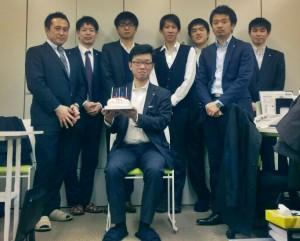 赤坂君お誕生日おめでとう!!